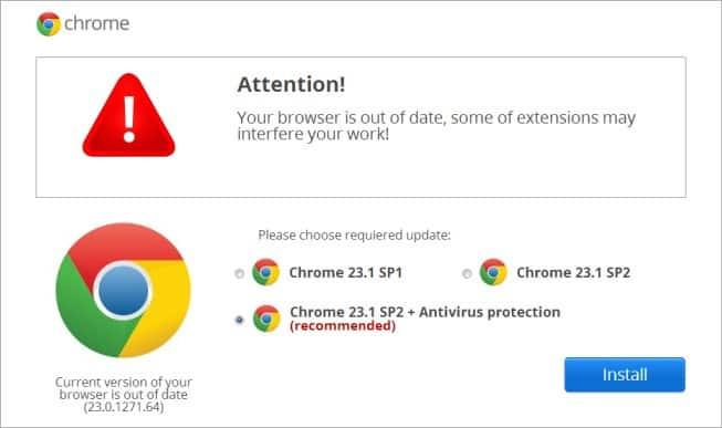 Fake Chrome